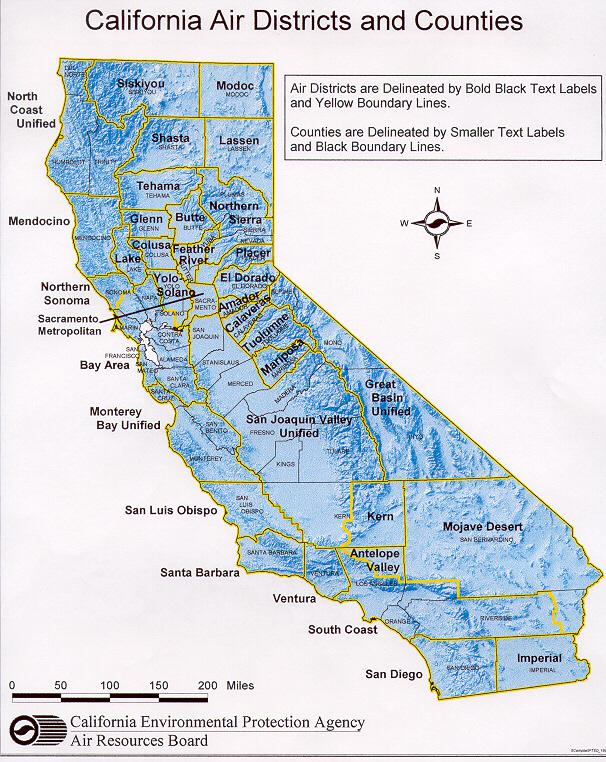 Maps Available On This Website - California counties map