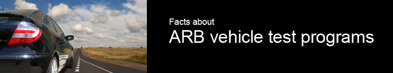 ARB test programs introduction page