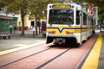 Sacramento light rail photo